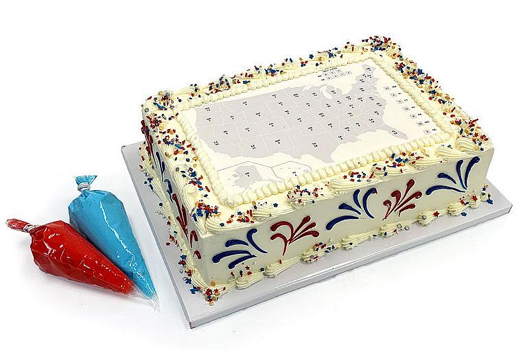 Vote for Cake! Freed's Bakery Launches Sales of Interactive Electoral College Map Cakes
