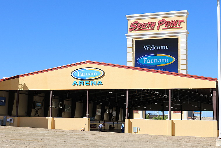 South Point Hotel, Casino & Spa Officially Opens Farnam Arena