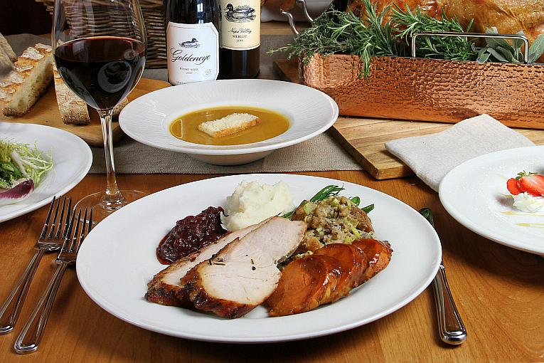 Enjoy a Thanksgiving Feast To Go or at One of the Many Restaurants Inside Station Casinos Properties, Grand Canal Shoppes, and Fashion Show Las Vegas