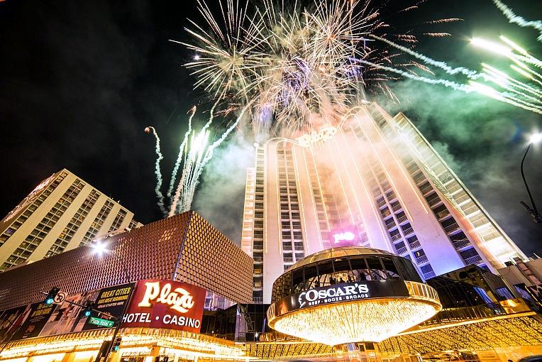 Plaza Hotel & Casino to Celebrate New Year's Eve With Live Fireworks Show