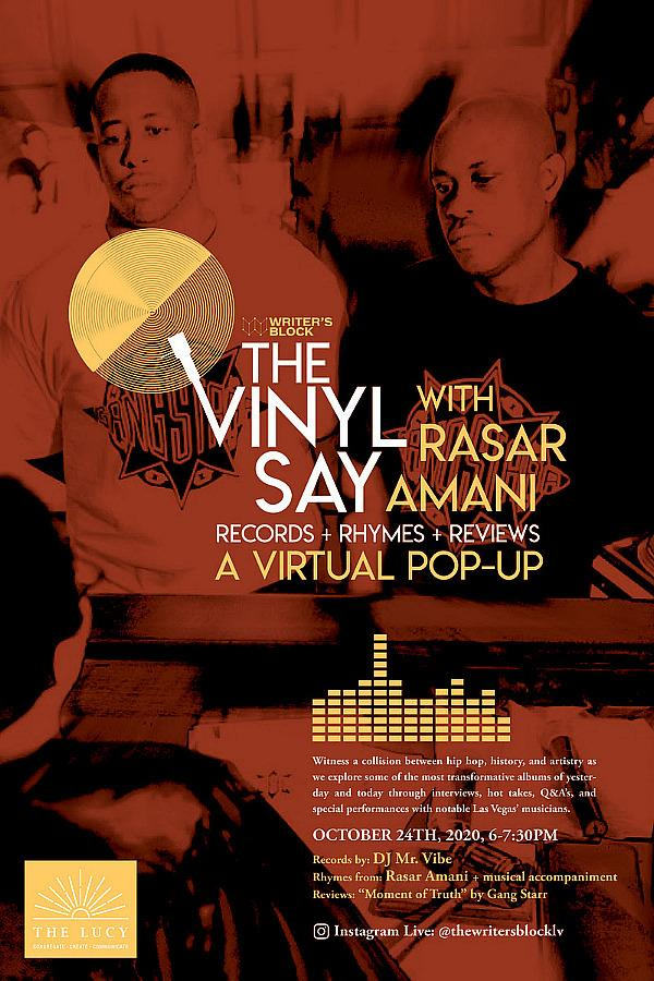 """The Vinyl Say with Rasar Amani Returns with Records + Rhymes + Reviews A Virtual Pop Up Spotlighting Gang Starr's Pivotal Album """"Moment of Truth"""""""