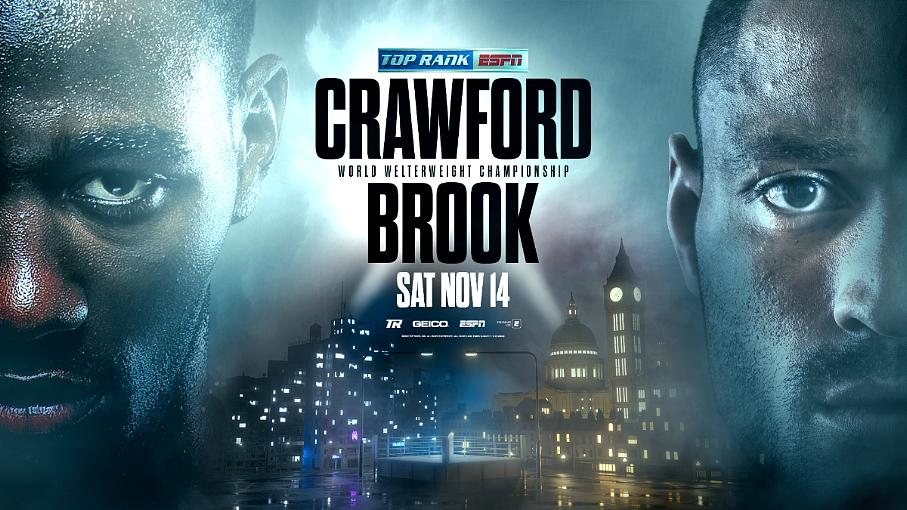 This Bud's Back: Welterweight Champion Terence Crawford Battles Kell Brook November 14 LIVE on ESPN and ESPN Deportes