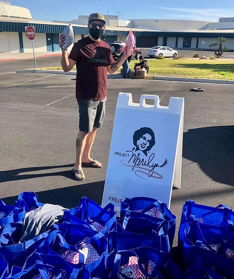 "Non-Profit Project Marilyn Joins The Just One Project ""Pop Up and Give"" Community Locations"