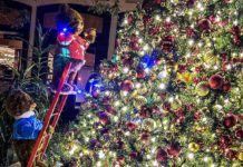 Mystic Falls Park Makes the Season Merry and Bright with All-New, Holiday-Inspired Décor