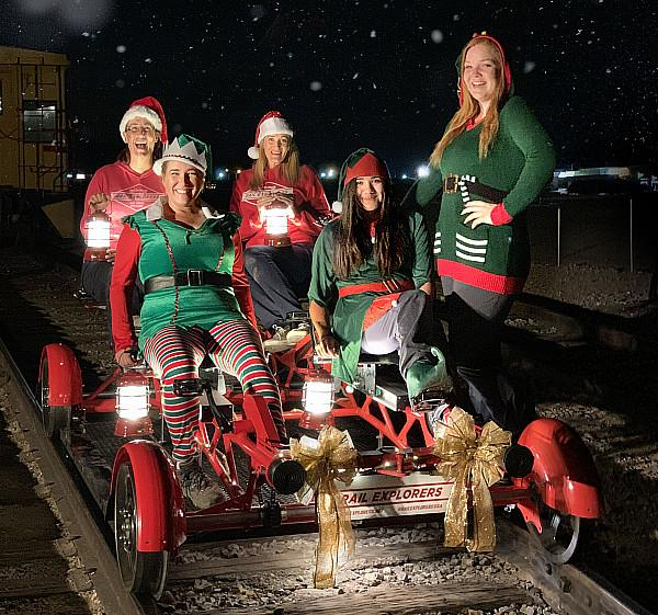 Rail Explorers Announces Holiday-Themed Tours To Celebrate The Season