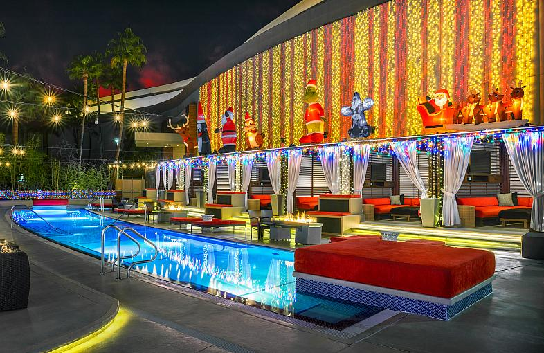 Red Rock Casino Resort & Spa Transforms into a Winter Wonderland for the Holidays with Merry Crimson and Other Over the Top Holiday Décor Throughout