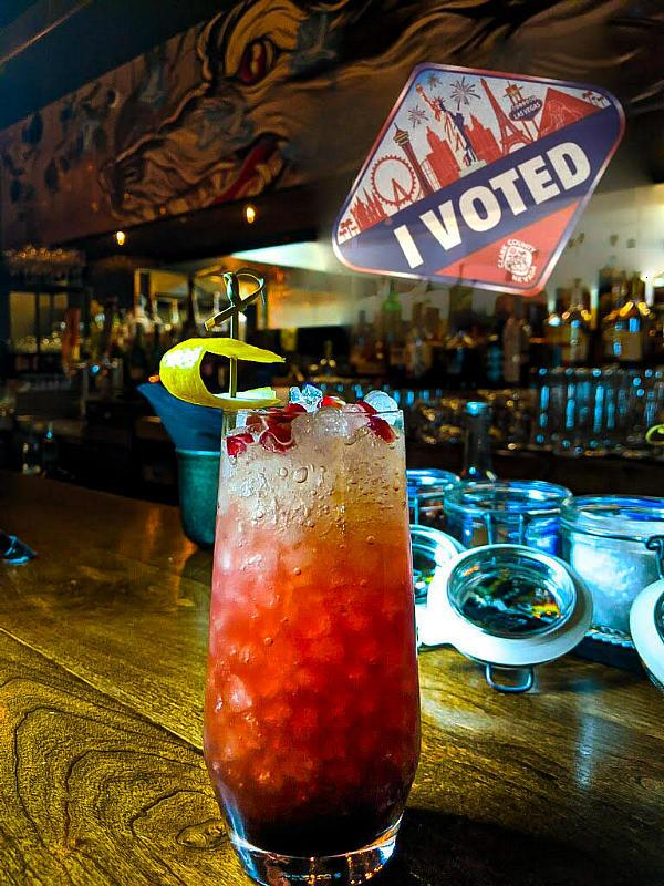 Free Election Day Cocktail at Sparrow + Wolf