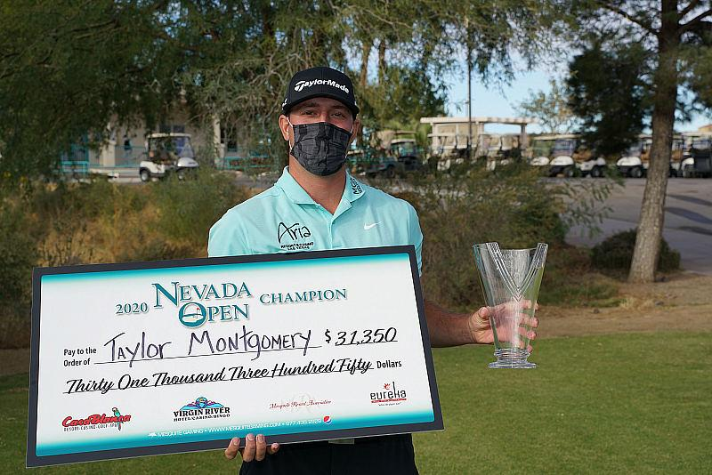 Montgomery Wins The 2020 Nevada Open Golf Tournament