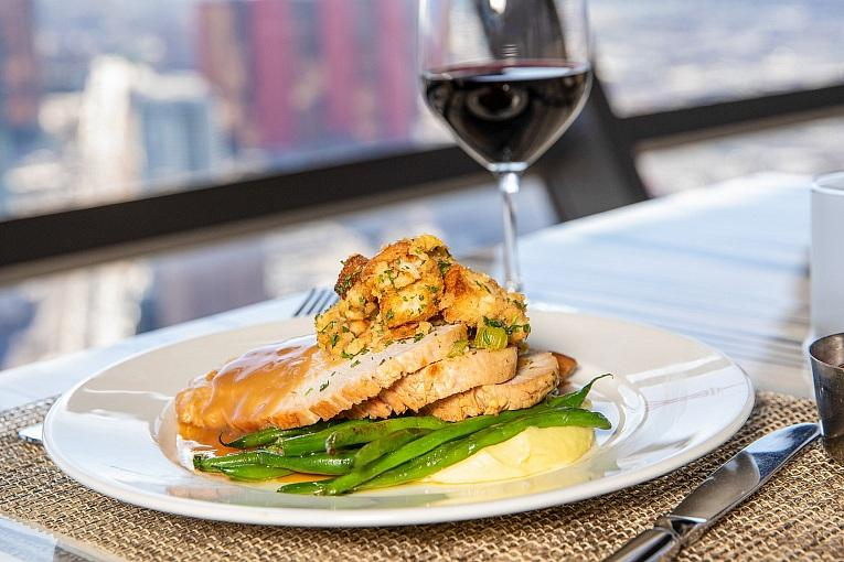 The STRAT Hotel, Casino & SkyPod Announces Thanksgiving Menus at Top of the World, PT's Wings & Sports and STRAT Café