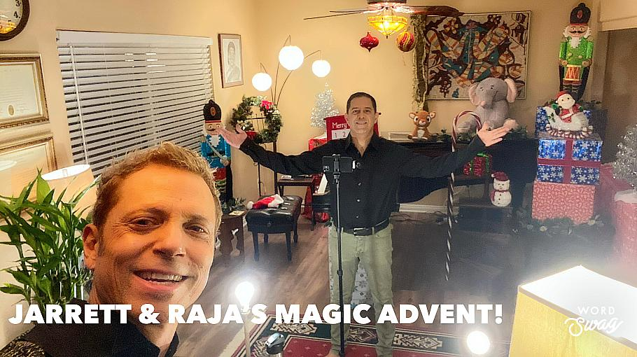 Las Vegas Magic & Music Duo Jarrett & Raja Premier MAGIC ADVENT!