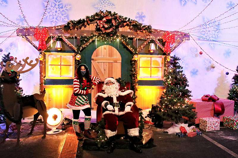 "Photo Gallery: ""Journey to the North Pole"" Drive-Through Holiday Experience at the Industrial Event Space Through Sunday, Jan. 3"