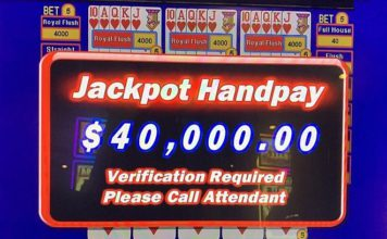 Lucky Local Kicks off the Week with a $40K Jackpot at Rampart Casino