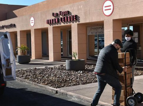 Las Vegas Urban League 'Operation Open Heart' Provides Needy Families With Special Holiday Gifts