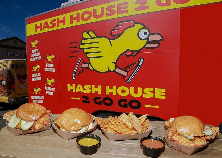 Hash House a Go Go West Sahara Hosts Festive Food Truck Event and Introduces New Hash House 2 Go Go Truck December 17