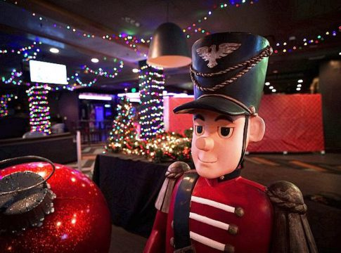Downtown Las Vegas' Gold Spike Sleighs the Ho-Ho-Holidays With Themed Pop-Up