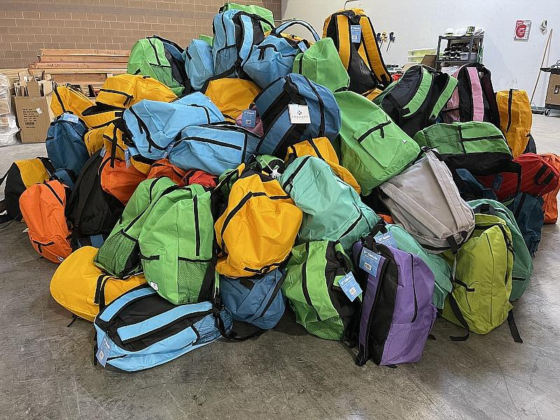 HomeAid Southern Nevada Distributes Backpacks