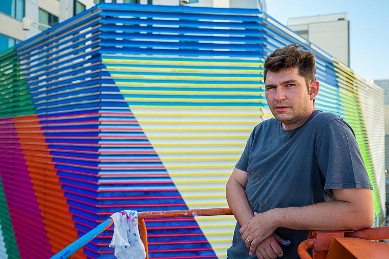 """We All Scream and Downtown Grand Hotel & Casino to Unveil New Artwork, Including World's Largest Augmented Reality Mural, """"Transmigrations"""""""