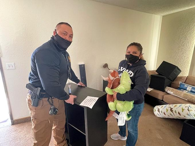 LVMPD Foundation and IKEA Furnish Home for Local Grandmother