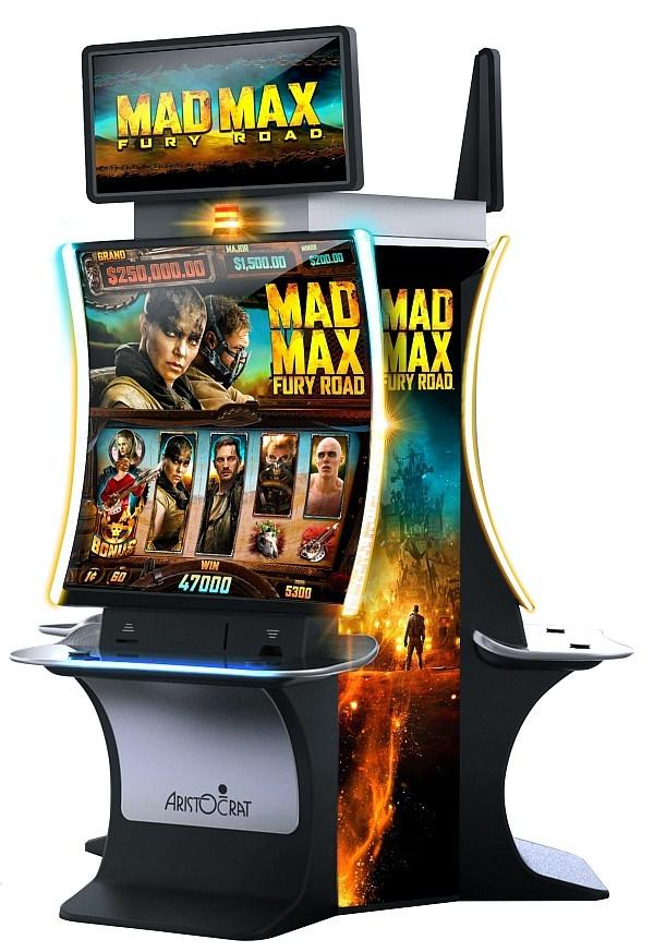 Indiana Visitor to The Venetian Resort Hits Jackpot for more than $650,000 on Aristocrat's Mad Max: Fury Road Slot Game
