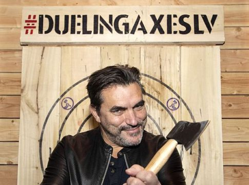 Todd English Spotted at Dueling Axes Inside AREA15