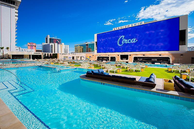 Circa Resort & Casino Debuts Hotel Tower & Legacy Club Rooftop Lounge