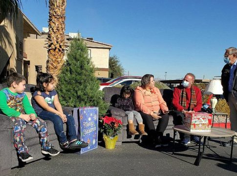 Walker Furniture Is Delivering Furniture for the 27th 'Home for the Holidays'