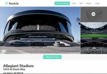 Homie's 3D tour of Allegiant Stadium Now Live