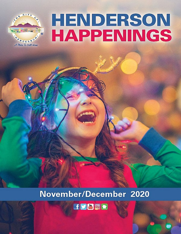 Registration for City of Henderson Winter 2021 Programming Begins December 15