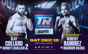 December 12: Clay Collard and Robeisy Ramirez to Return on Stevenson-Clary Undercard Broadcast LIVE and Exclusively on ESPN+