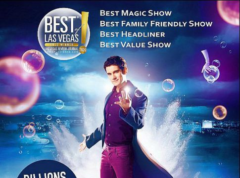 "Xavier Mortimer – The International, Award-Winning Magician Wins Four Prestigious ""Best of Las Vegas"" Awards Including ""Best Magic Show"" in Las Vegas"