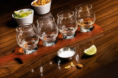 Tequila Tasting at The Underground at The Mob Museum.
