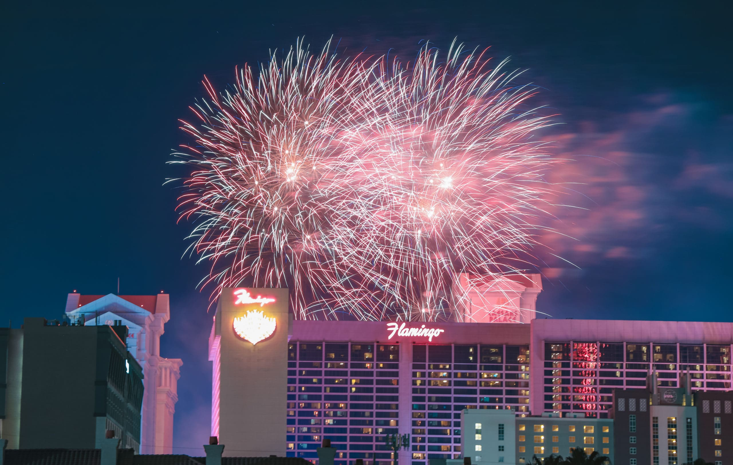 Fireworks of the Flamingo, Independence Day 2019