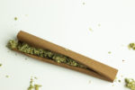 Cannabis,Blunt,Roll,On,White,Background,Isolated
