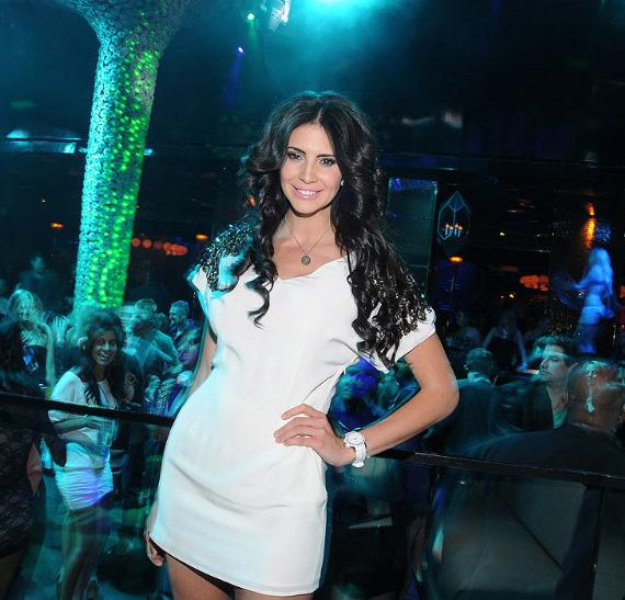Hope Dworaczyk at Vanity in Hard Rock Hotel Las Vegas