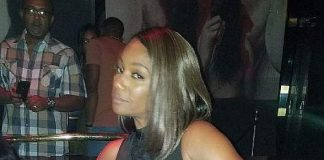 Comedian Tiffany Haddish Spotted at 1 OAK Nightclub in Las Vegas