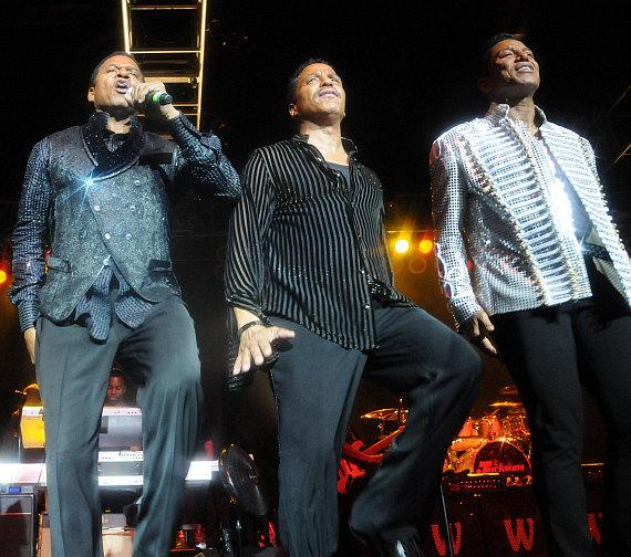 The Jacksons perform at Cannery Casino in Las Vegas