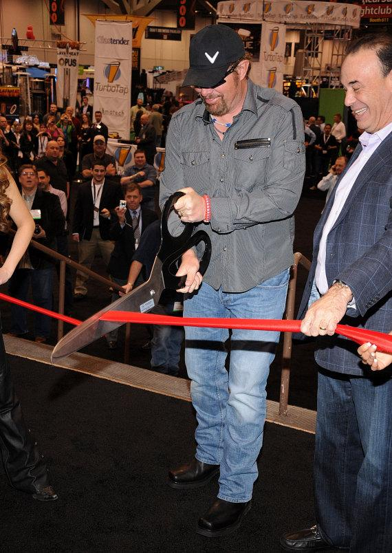Toby Keith celebrates opening of 27th Annual Nightclub & Bar Convention