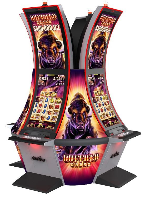 Players Win $1,153,736 and $741,017 on Aristocrat's Buffalo Grand Slot Game