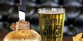 Slater's 50/50 Offers 24K Gold-Dusted Creations to Celebrate Glitz and Glamour of Sin City