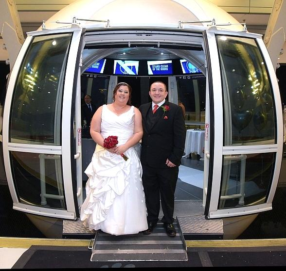 "Las Vegas Couple Justin Brittingham and Heather Bagley Say, ""I Do,"" Becoming First Couple to be Married on The Palindromic Date Of 8/1/18"