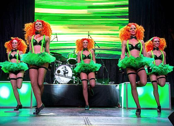 et Lucky at Fremont Street Experience's Four-Day St. Patrick's Day Shamrock Celebration, March 14–17