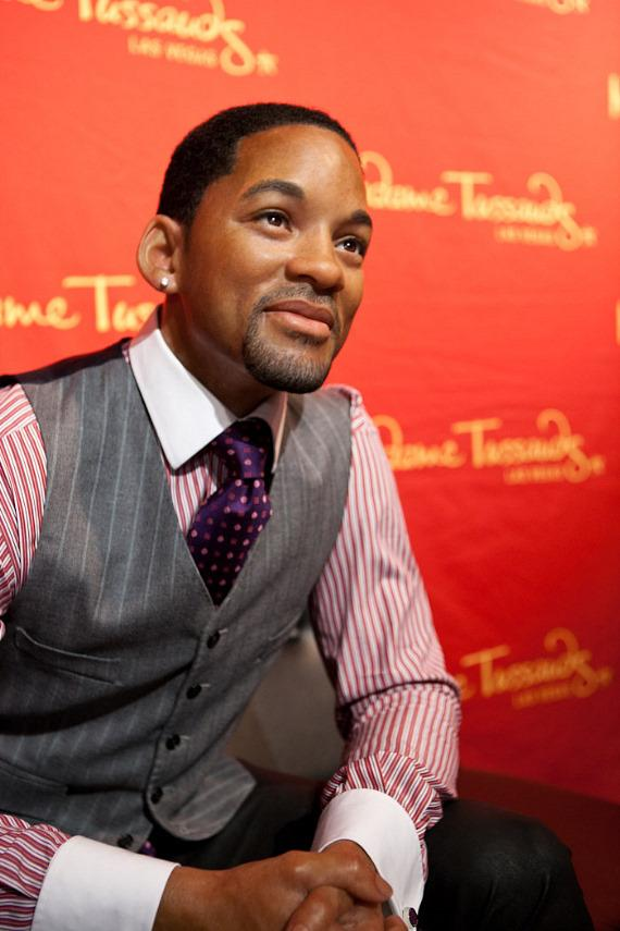 Will Smith in Wax at Madame Tussauds at The Venetian in Las Vegas