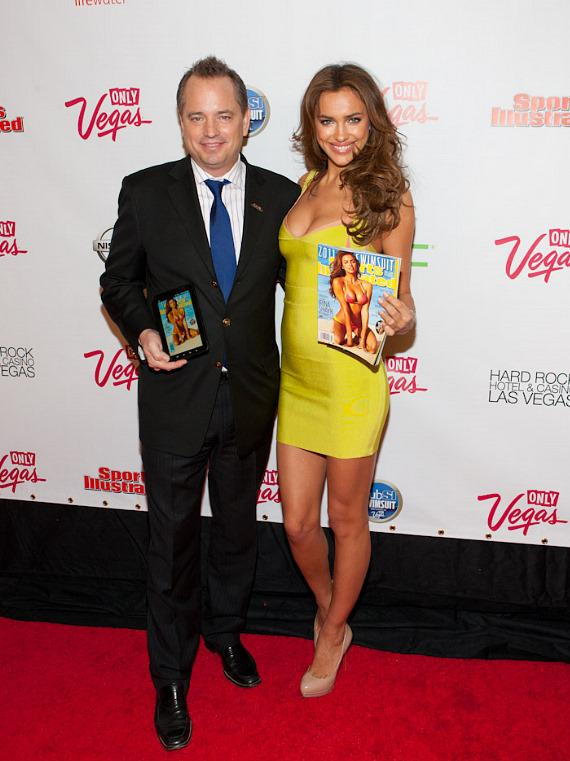 Mark Ford of Sports Illustrated with Irina Shayk