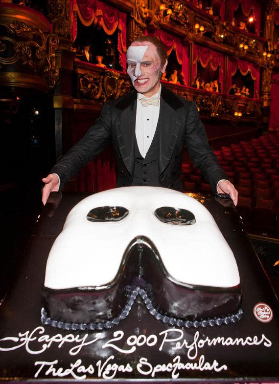 Phantom The Vegas Spectacular celebrates it's 2000th show at The Venetian