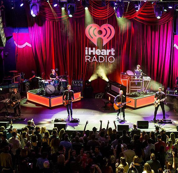 One Republic performs at iHeartRadio Ultimate Valentine's Day Escape at Brooklyn Bowl in Las Vegas