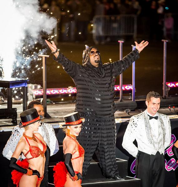 CeeLo Green Makes Official Arrival at Planet Hollywood Resort & Casino