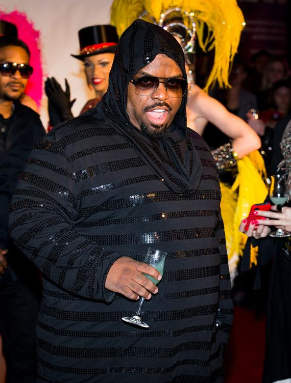 CeeLo Green as he arrives at Planet Hollywood Resort & Casino