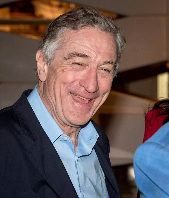 Robert DeNiro at Nobu Hotel at Caesars Palace in Las Vegas