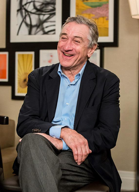 Robert DeNiro at Nobu Hotel