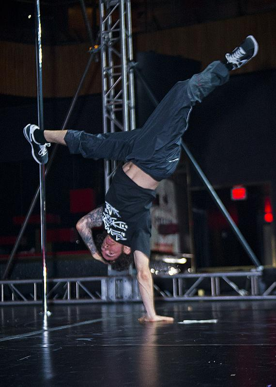 """Etienne (ATN) Carriera, member of """"BattleBorn"""" (#1 BBoy Dance Group in the USA, #2 in the World)"""